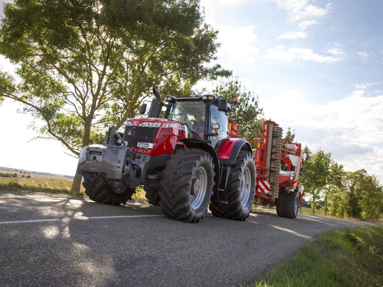 Трактор Массей Фергюсон 8737: купити MF 8737 в Україні - Bizontech