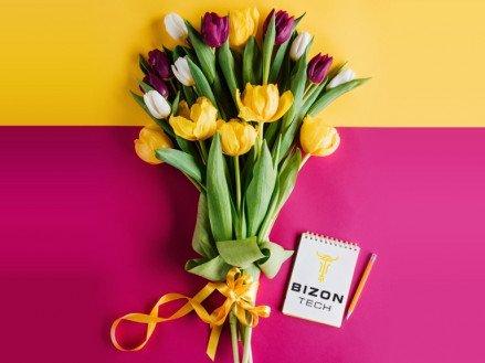 Бізон-тех вітає жінок з 8 березня